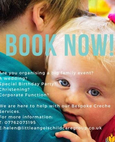 wedding creche near abingdon in oxfordshire